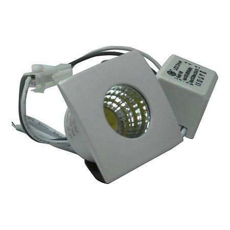 Spot Mini COB 3W 6000K Bivolt - CTB