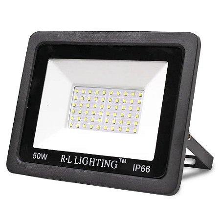 Refletor LED 50W 6500K - R.L. Lighting