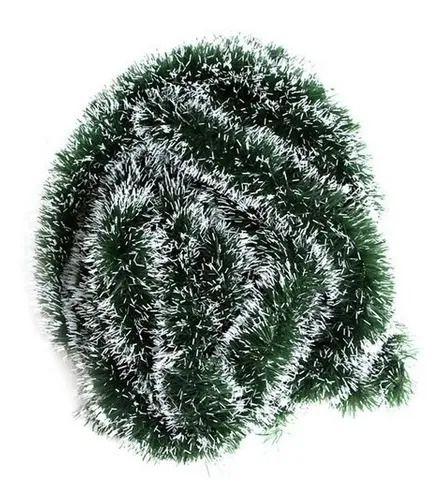 Festão Verde Escuro Nevado 2m