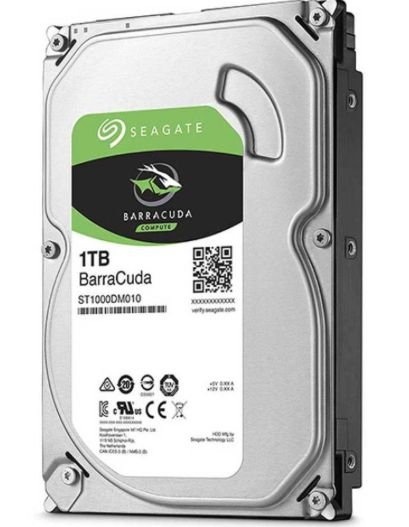 HD Interno Computador SATA3 1TB Seagate Barracuda 7200 64MB