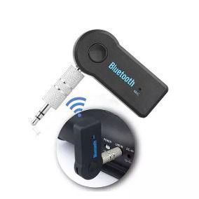Adaptador Bluetooth para P2 Com Bateria e Microfone Embutidos