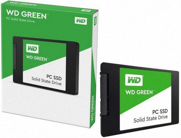 HD SSD A400 120GB - WD Green