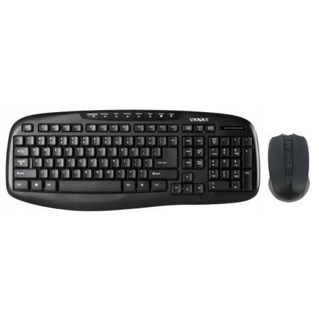 Teclado + Mouse Wireless Satellite AK-718G - Preto