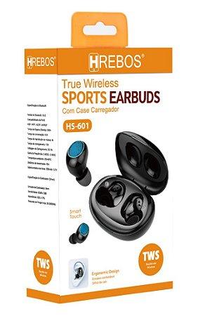 Fone de Ouvido Sem Fio - Sports Earbuds - HS-601