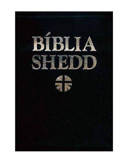 BÍBLIA SHEDD - CONVERTEX PRETO