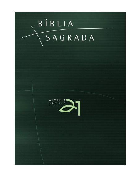 BÍBLIA A21 BROCHURA - VERDE C/ REFERÊNCIAS CRUZADAS