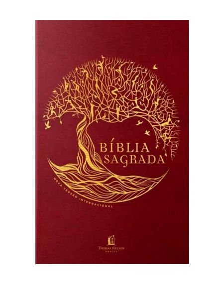 BÍBLIA NVI CAPA DURA - ÁRVORE DA VIDA