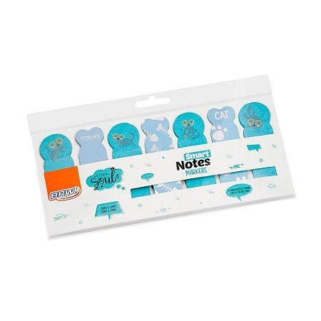 Marcador de páginas Smart Notes Marker - Gatos 140 fls - BA0500