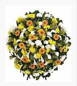 Coroa de Flores Cemitério da Paz Grande BR-02