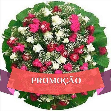 Coroa de Flores de Rosas