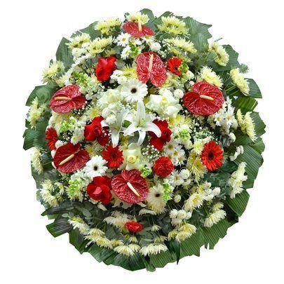 Coroa de Flores Velório Jardim Avelino ( Tam. Grande )