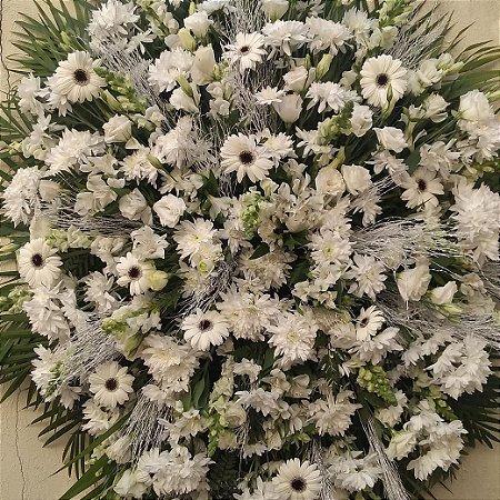 Coroa de Flores Cemitério Vila Formosa( Tam. Grande )