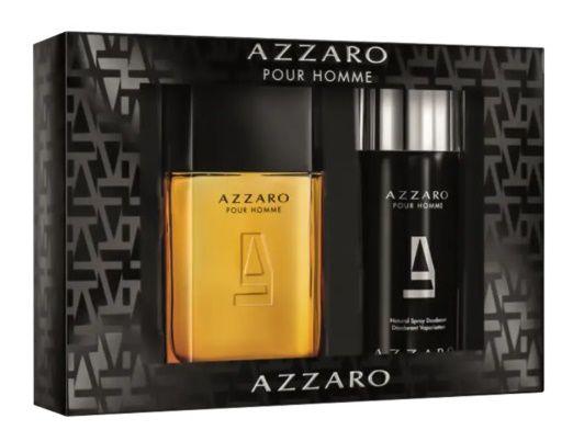 Coffret Azzaro Por Homme EDT 100ml + Desodorante 150ml
