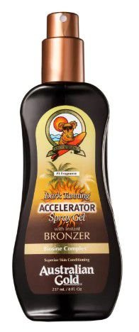 Dark Tanning Accelerator Spray With Instant Bronzer - Spray Bronzeador 237ml
