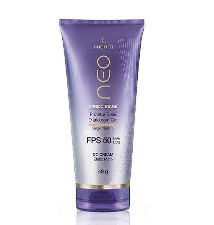 Protetor Solar CC Cream FPS 50