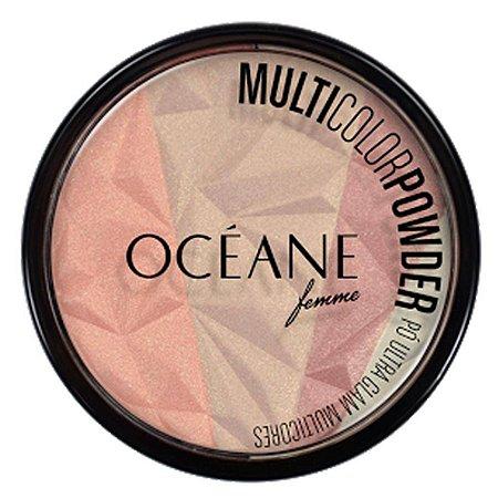 Pó Facial Multicores - Multicolor Powder