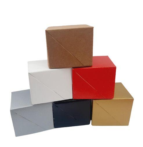 Caixa SEM visor C5 (5x5x4 cm) - embalagem com 20