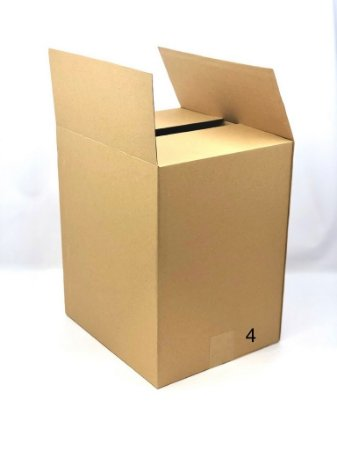 Caixa microondulada MTM4 (35x25x36 cm) - embalagem com 20
