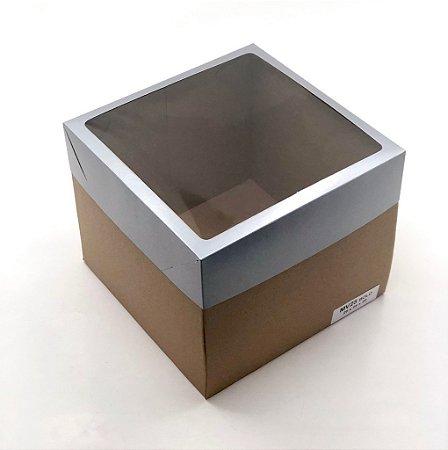 Caixa mista com visor MVB28 (28x28x19,5 cm) - embalagem com 10