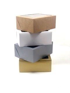 Caixa mista com visor MVR10 (24x19x10 cm) - embalagem com 10