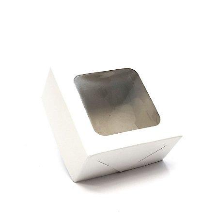 Caixa com visor VC10 (10x10x5 cm) - embalagem com 20