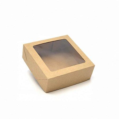 Caixa com visor VC12 (12x12x4 cm) - embalagem com 20
