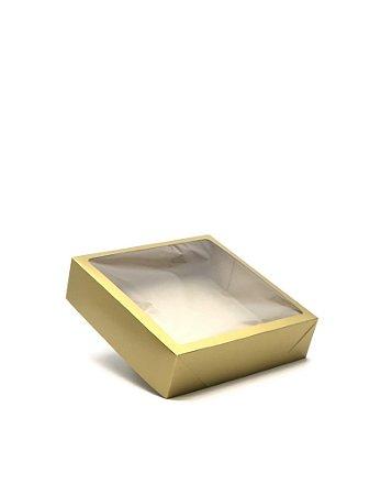 Caixa com visor VC25 (25x25x6,5 cm) - embalagem com 20