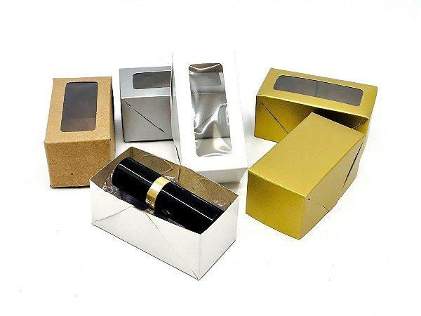 Caixa com visor VR0 (8x4x3,5 cm) - embalagem com 20