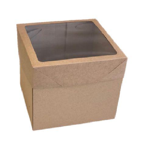 Caixa mista com visor MVB20 (20x20x20 cm) - embalagem com 20