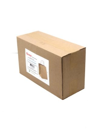 Sacola com alça torcida AT28 (28x23x18 cm) - embalagem ecológica com 50
