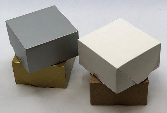 Caixa sem visor C11 (11x11x6 cm) - embalagem com 20