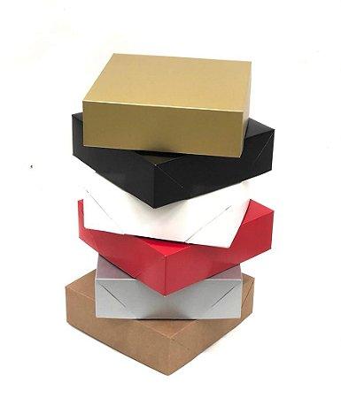 Caixa sem visor C20 (20x20x6 cm) - embalagem com 20