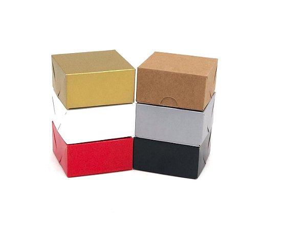Caixa sem visor C8 (8x8x4 cm) - embalagem com 20