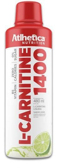 L-CARNITINA 1400 480ML ATHETICA NUTRITION