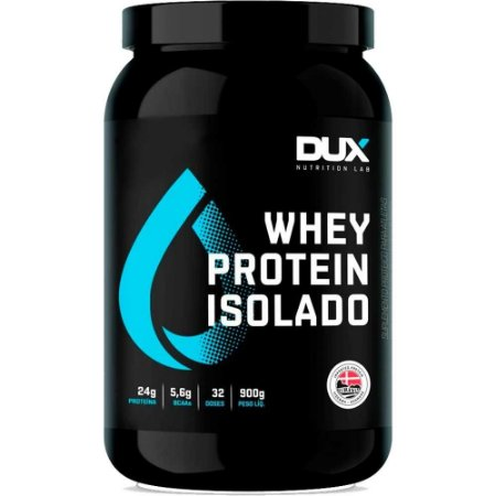 Whey Protein Isolado Pote 900g - Dux Nutrition