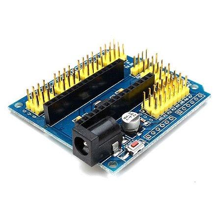 Módulo Adaptador Expansão Para Arduino Nano V3.0