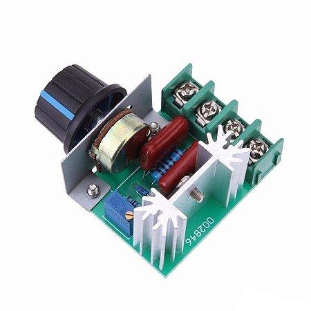 Dimmer 2000W 220V Regulador de Tensão