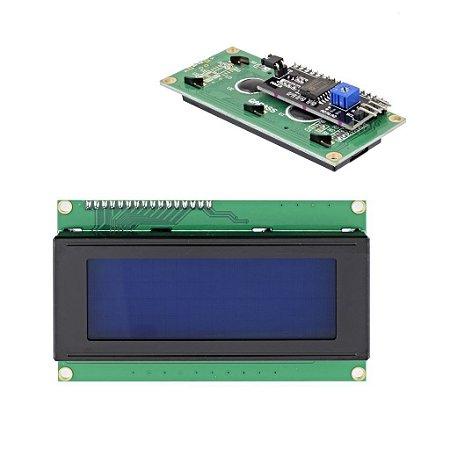 Display Lcd 20x4 Com I2C Soldado Para Arduino