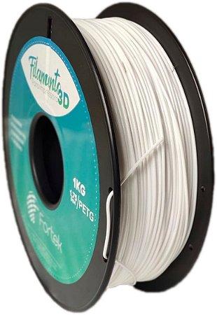 Filamento Pet-g 1,75 Mm 1kg - Branco (White)
