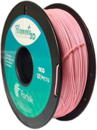 Filamento Pet-g 1,75 Mm 1kg - Rosa (Pink)
