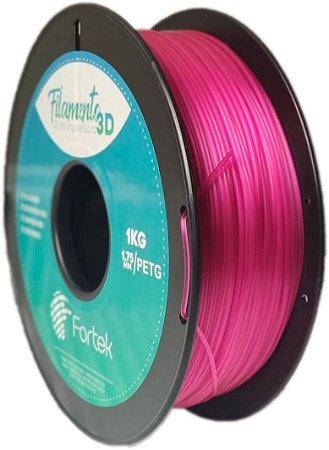 Filamento Pet-g 1,75 Mm 1kg - Roxo Translúcido (Translucent Purple)