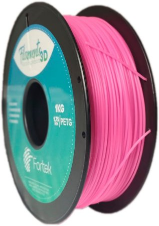 Filamento Pet-g 1,75 Mm 1kg - Vermelho Brilhante (Glowing Red)