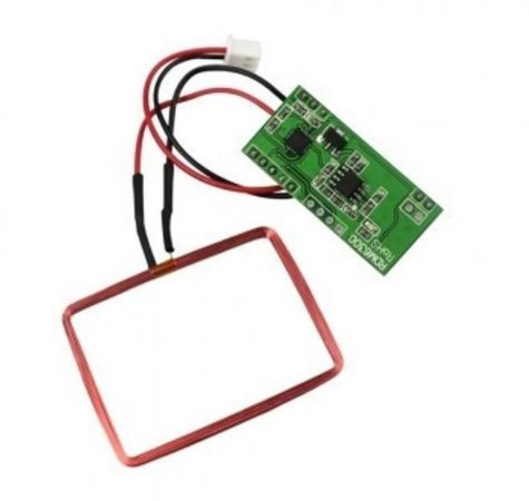 LEITOR RFID 125KHZ RDM6300 SERIAL TTL