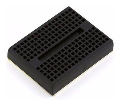 Mini Protoboard 170 Pontos Preta