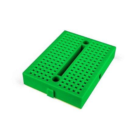 Mini Protoboard 170 Pontos Verde