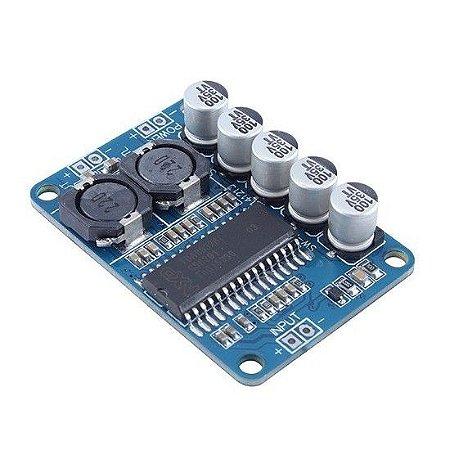Módulo Amplificador de Áudio 35W TDA8932