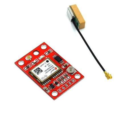 Módulo GPS GY-NEO6M AMP2 Vermelho - Econômico