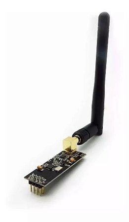 Módulo NRF24L01+ PA + LNA Wireless ( WIFI ) 2.4GHz Longo Alcance