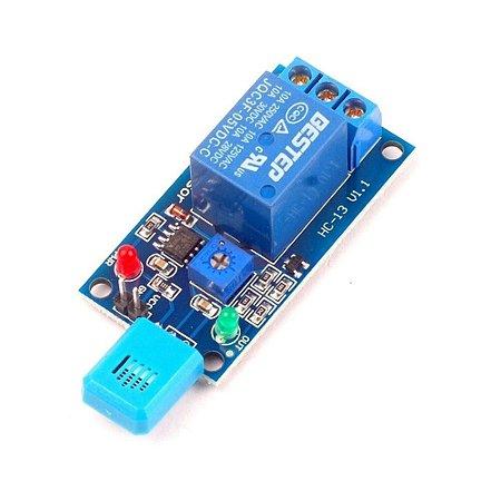 Módulo Sensor de Umidade do Ar HR202L Com Relé