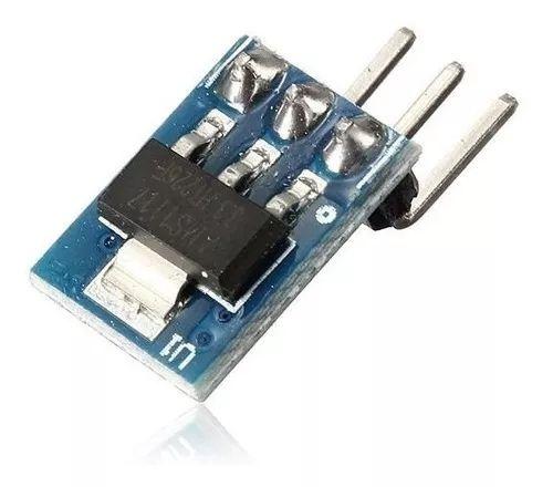 Regulador De Tensão AMS1117 5V - Entrada 5 a 7VDC e Saída 3.3VDC